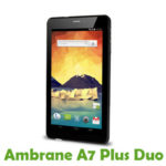 Ambrane A7 Plus Duo Firmware
