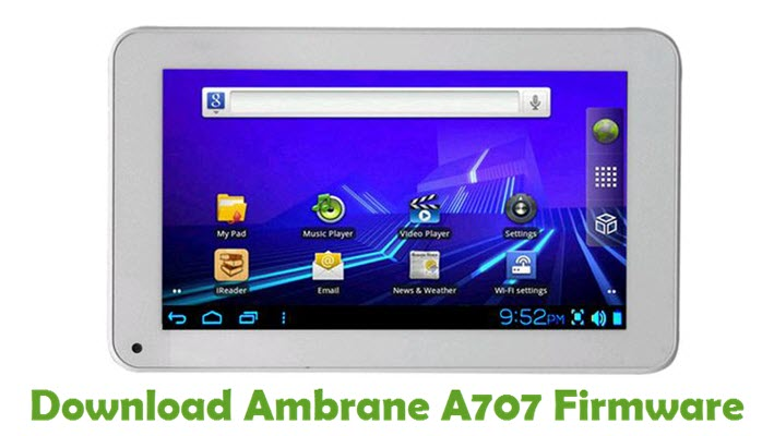 Download Ambrane A707 Stock ROM