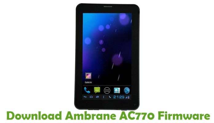 Download Ambrane AC770 Firmware