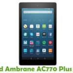 Ambrane AC770 Plus Firmware