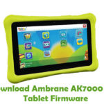 Ambrane AK7000 Kids Tablet Firmware