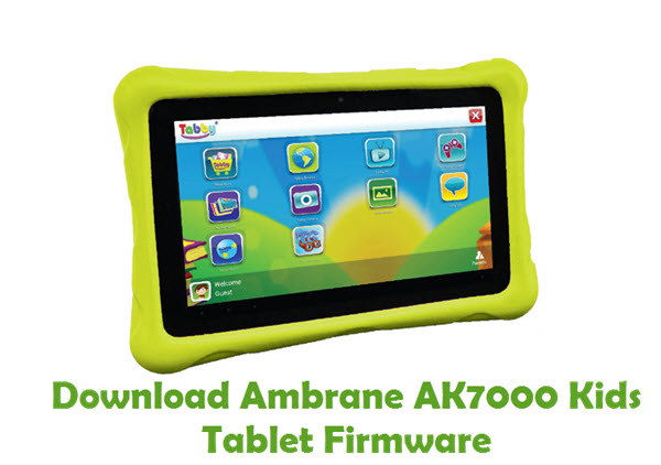 Download Ambrane AK7000 Kids Tablet Stock ROM
