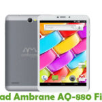 Ambrane AQ-880 Firmware