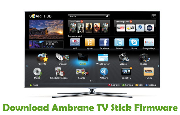 Download Ambrane TV Stick Firmware