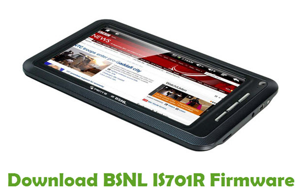 Download BSNL IS701R Firmware