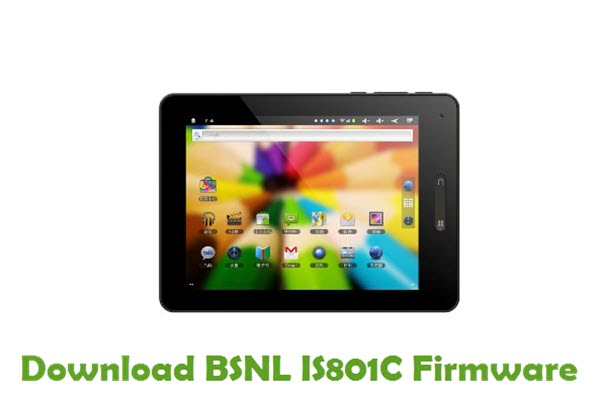 Download BSNL IS801C Firmware