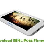 BSNL P033 Firmware