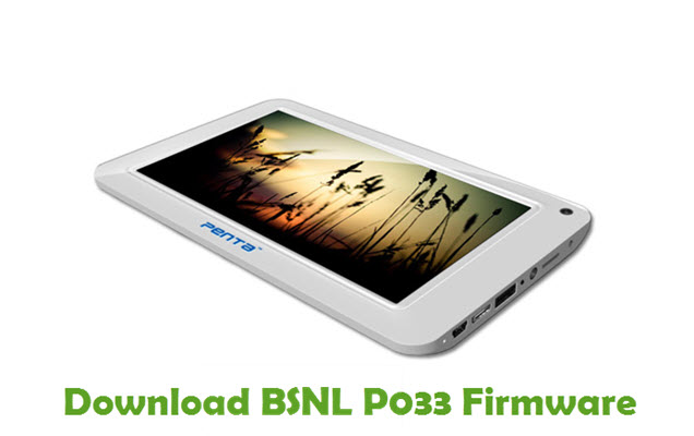 Download BSNL P033 Firmware