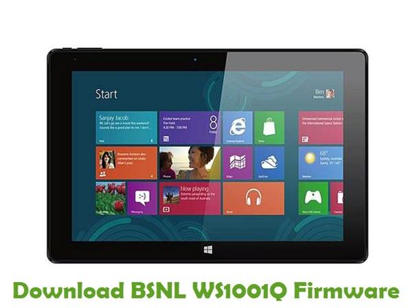 Download BSNL WS1001Q Firmware