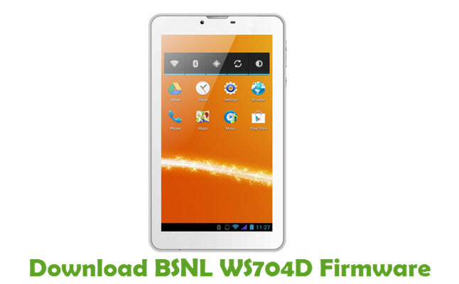 Download BSNL WS704D Firmware