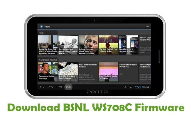Download BSNL WS708C Firmware