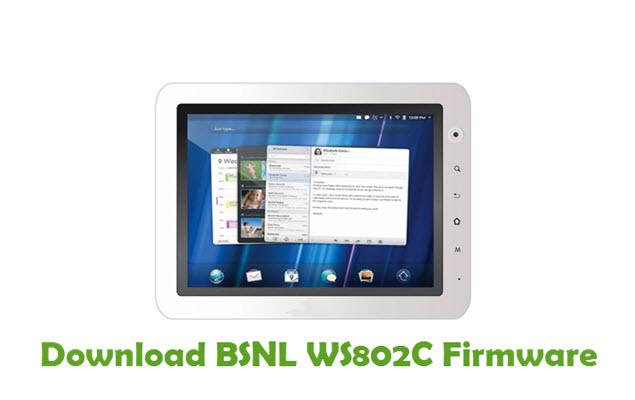 Download BSNL WS802C Firmware