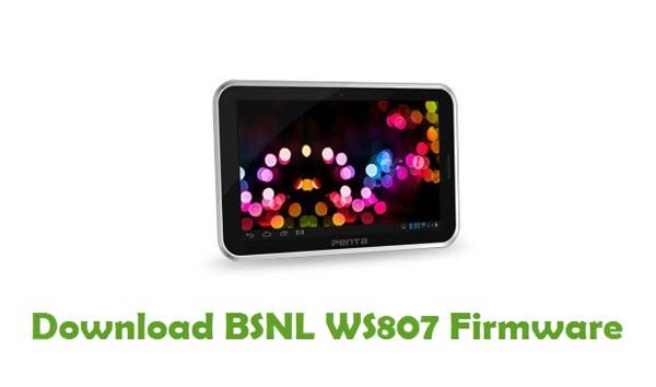 Download BSNL WS807 Firmware