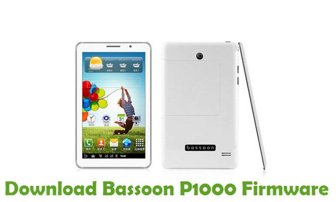 Download Bassoon P1000 Stock ROM