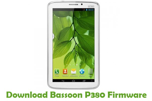 Download Bassoon P380 Stock ROM