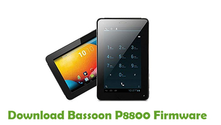 Download Bassoon P8800 Firmware