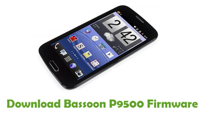 Download Bassoon P9500 Firmware