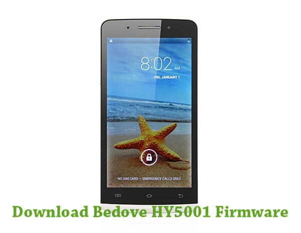 Download Bedove HY5001 Firmware