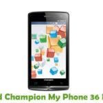 Champion My Phone 36 Firmware