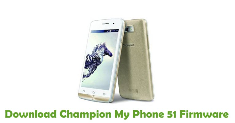 Download Champion My Phone 51 Firmware