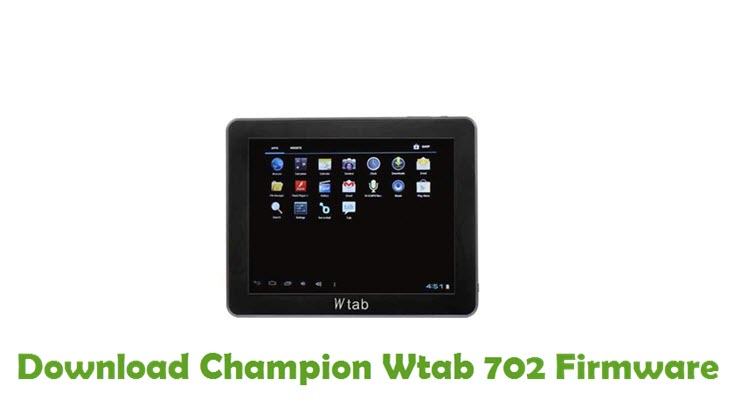 Download Champion Wtab 702 Firmware
