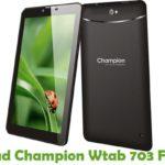 Champion Wtab 703 Firmware