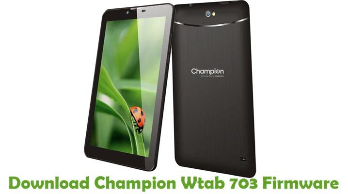 Download Champion Wtab 703 Firmware