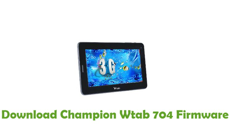 Download Champion Wtab 704 Firmware