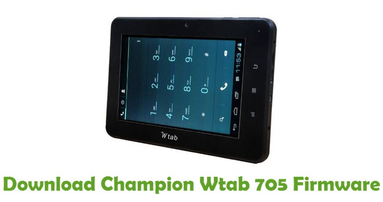 Download Champion Wtab 705 Firmware