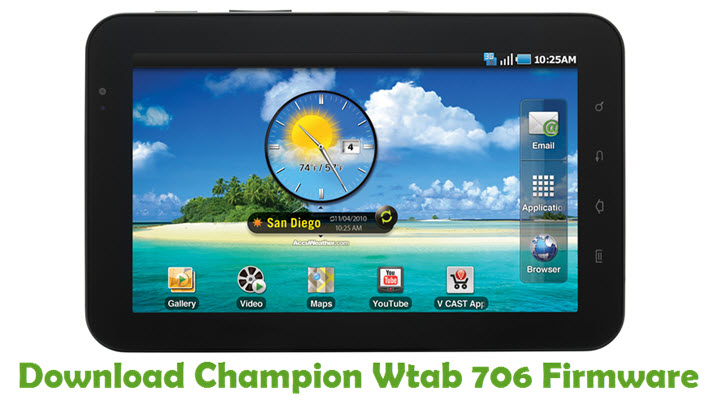 Download Champion Wtab 706 Firmware