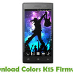 Colors K15 Firmware