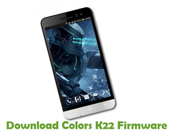 Download Colors K22 Firmware