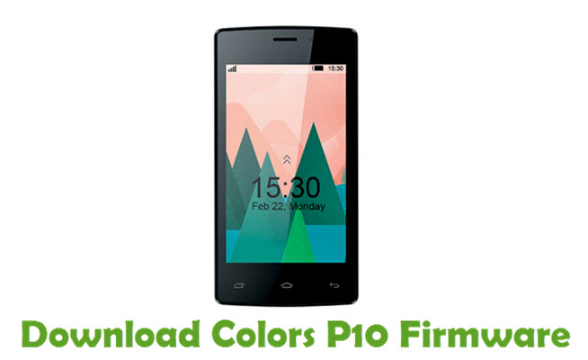 Download Colors P10 Firmware