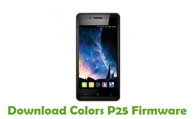 Download Colors P25 Firmware