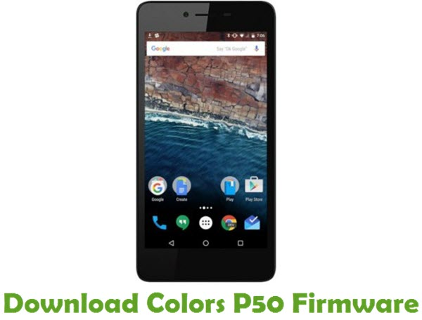 Download Colors P50 Stock ROM
