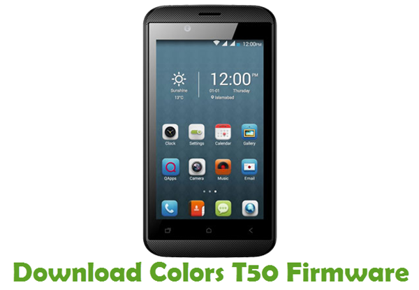 Download Colors T50 Firmware
