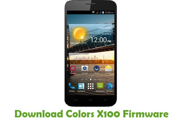 Download Colors X100 Firmware