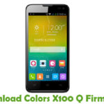 Colors X100 Q Firmware