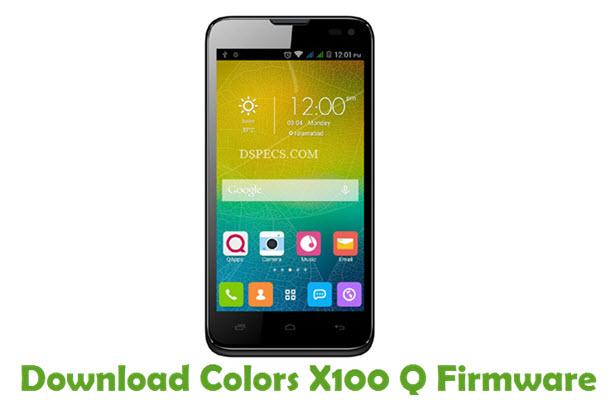 Download Colors X100 Q Firmware