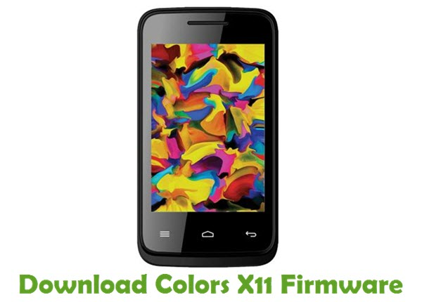 Download Colors X11 Firmware