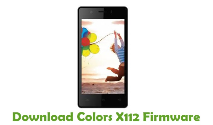 Download Colors X112 Firmware