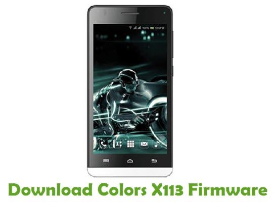 Download Colors X113 Firmware