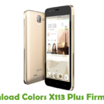 Colors X113 Plus Firmware