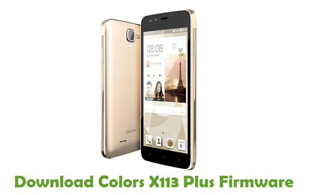 Download Colors X113 Plus Firmware