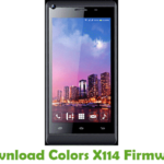 Colors X114 Firmware