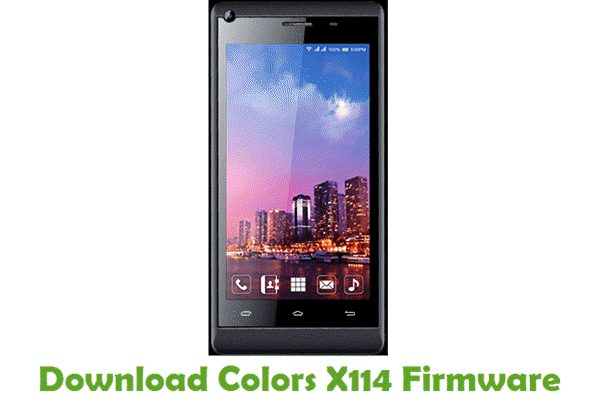 Download Colors X114 Firmware
