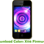 Colors X116 Firmware