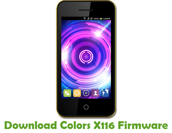 Download Colors X116 Firmware