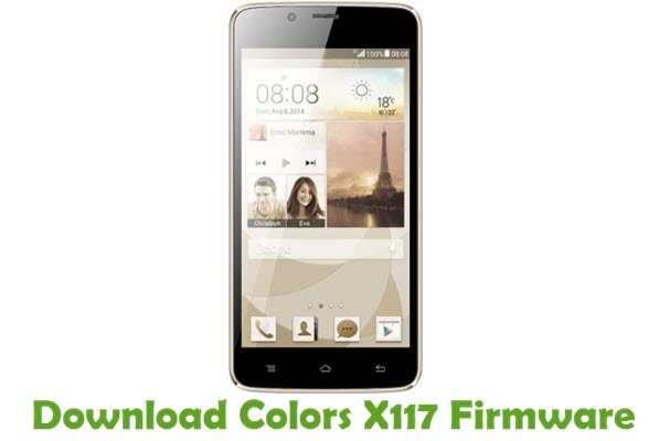 Download Colors X117 Firmware