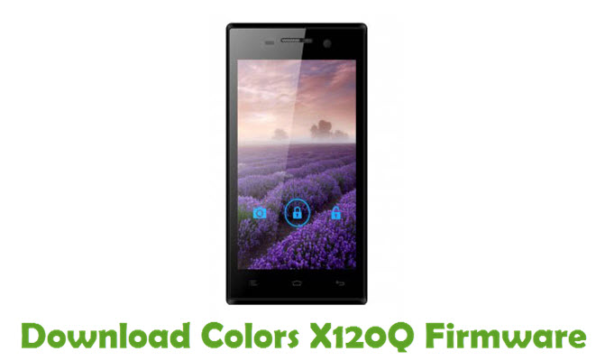 Download Colors X120Q Firmware